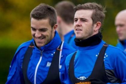 Andy Little and David Templeton are major doubts for Rangers' Ramsdens Cup final against Raith Rovers on Sunday