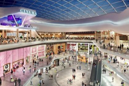 A new luxury cinema wil be built in the Buchanan Galleries extension