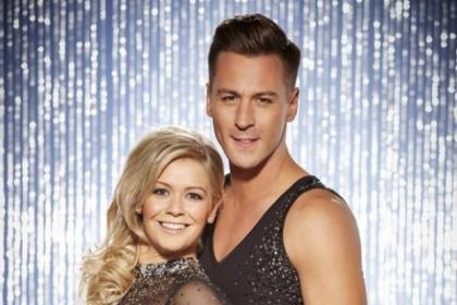 Suzanne Shaw and her Dancing On Ice partner Matt Evers will be at the Hydro