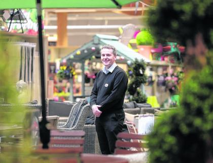 Dobbies Braehead General Manager Brendan Chambers in the popular store Pictures: Mark Mainz