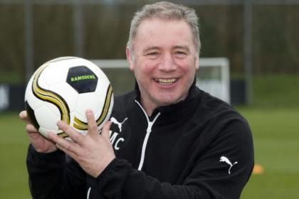 Rangers boss Ally McCoist is looking forward to Sunday's Ramsdens Cup final against Raith Rovers