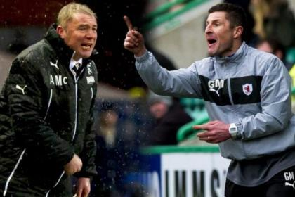 Rangers boss Ally McCoist will lock horns with Raith Rovers counterpart Grant Murray at Easter Road tomorrow
