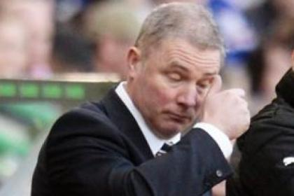 Ally McCoist suffered a tortuous 120 minutes at Easter Road on Sunday