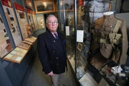 The Royal Highland Fusiliers' Glasgow museum features fascinating exhibits and moving stories of courgae and bravery
