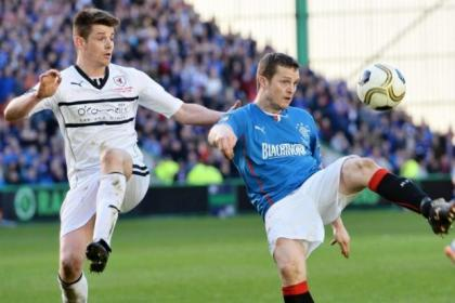 Jon Daly is ready to take on former club Dundee United at Ibrox