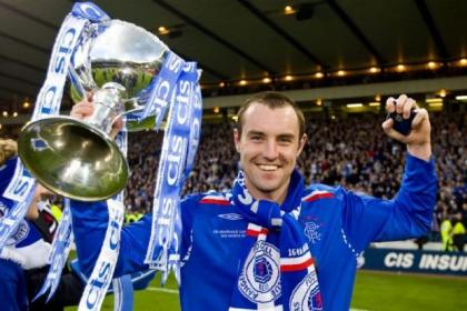 Kris Boyd scored on the last occasion Rangers defeated Dundee United in a cup, in the 2008 League Cup final  at Hampden