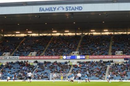 The family stand at Ibrox is half empty as Rangers dump Forfar following their Scottish Cup exit at the weekend