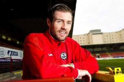 Jordan McMillan joined Thistle at the end of last season when they won the First Division, and he has no desire for an immediate return this term
