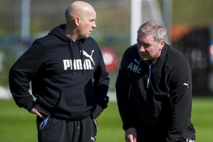McCoist's and McDowell will hope to work with new players in the summer