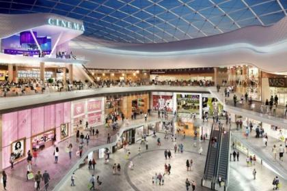 This artist's impression shows how the Buchanan Galleries extension will look in 2018
