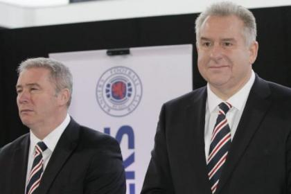 Rangers manager Ally McCoist and chief executive Graham Wallace will meet to discuss findings of 120-day review