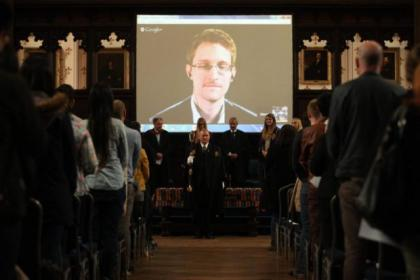 Students have defended their election of Edward Snowden as rector