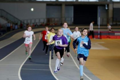 Children have been given the chance to use the world class sporting facilities