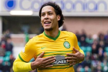 Virgil van Dijk enjoyed jousting with Europe's  big guns in the Champions League for Celtic