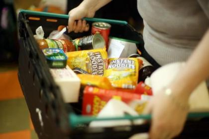 No record is being kept of how many use Glasgow's foodbanks