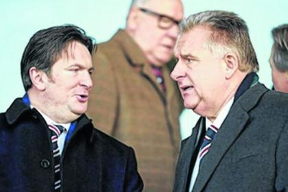 Graham Wallace insisted Sandy Easdale had no authority to speak on behalf of the Rangers board