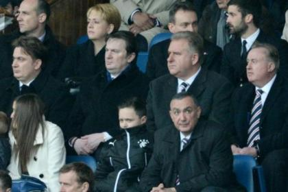 James and Sandy Easdale, Rangers chief executive Graham Wallace and chairman David Somers are under the fans' microscope