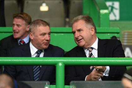 Graham Wallace and Ally McCoist held talks yesterday