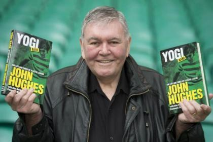John Hughes launched his book...and a bitter blast at Jock Stein