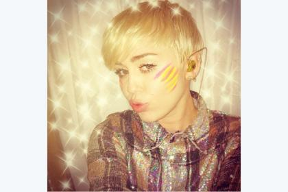 Miley posted this picture on Instagram after last night's Hydro show and said how much she loved Scotland
