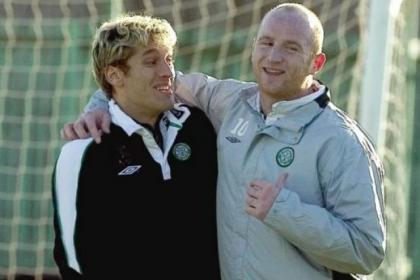 Stiliyan Petrov and John Hartson will be back at Celtic Park for the title party a week on Sunday