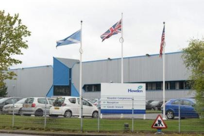 Up to 20 jobs will be lost when Howden moves some of its operations