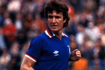 Rangers icon Sandy Jardine, who sadly died last week