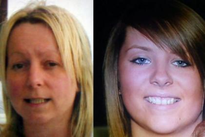 Margaret McDonough, left, and her daughter Nicola were found fatally injured at the Premier Inn, Greenock, last May