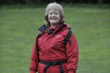 Yvonne says walking has changed her life for the better