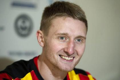 Chris Erskine is well up for Hearts trip