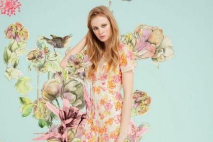 Miss Selfridge's new floral collection