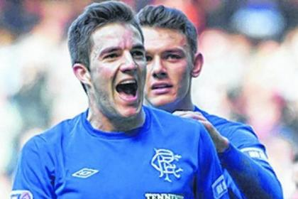 Andy Little paid tribute to the club after being released by Ally McCoist