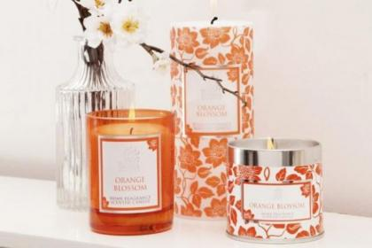 Glasgow-based Shearer Candles has a range of products in Orange Blossom and Persian Lime