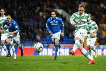 Kris Commons opened the scoring for Celtic in 3-3 draw with St Johnstone