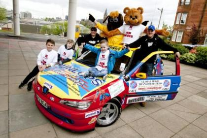 Colin Provan is planning the drive to raise money for sick children