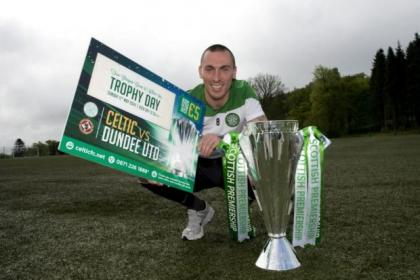Celtic's Scott Brown trails special price for kids at tomorrow's title party