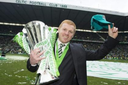 Neil Lennon celebrated Celtic's third successive title triumph but revealed James Forrest has had surgery for a groin problem