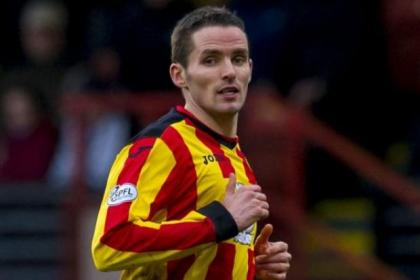 Lee Mair featured 17 times for Partick Thistle