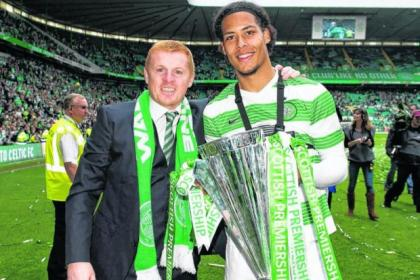 Neil Lennon clinched the signing of Dutch defender Virgil van Dijk early in last summer's transfer window