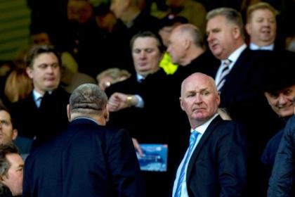 Bomber says fans should look for security over Murray Park as well as Ibrox