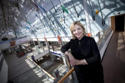 St Enoch Centre general manager Anne Ledgerwood Pictures:  Mark Gibson