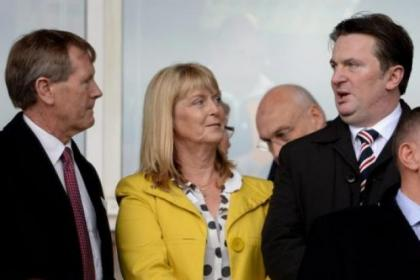 Dave King is at odds with Rangers board members including Sandy Easdale