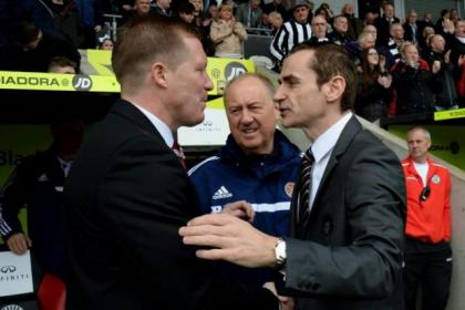 Gary Locke, left, and Danny Lennon lost their jobs this week