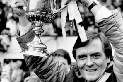 Davie Hay's first trophy as Celtic manager was a Scottish Cup win against Dundee United in 1985