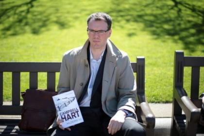 Campbell Hart's  first novel introduces  a new fictional Glasgow detective     Picture: Mark Mainz