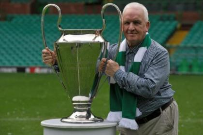 John Clark with the European Cup. Picture: Nick Ponty