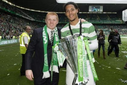 Neil Lennon believes the emergence of Virgil van Dijk is one of his season highlights