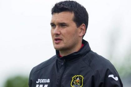 Dumbarton manager Ian Murray