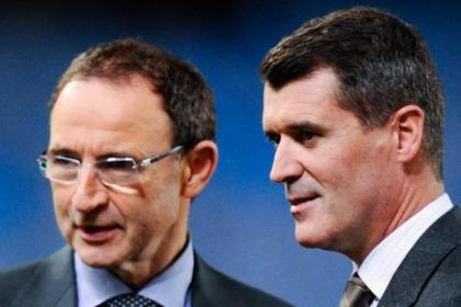 Martin O'Neill and Keane are ROI's coaching team
