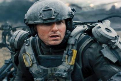 Tom Cruise stars in Edge of Tomorrow